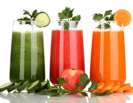 рецепты овощных соков для Шнековой соковыжималки