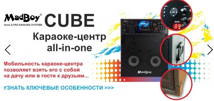 MadBoy CUBE представляет собой яркий пример караоке-системы «все-в-одном»