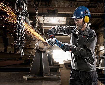 Инструменты Bosch могут успешно использоваться в областях с высокими требованиями по технике безопасности
