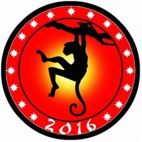 Новый 2016 год Огненной Обезьяны по восточному гороскопу