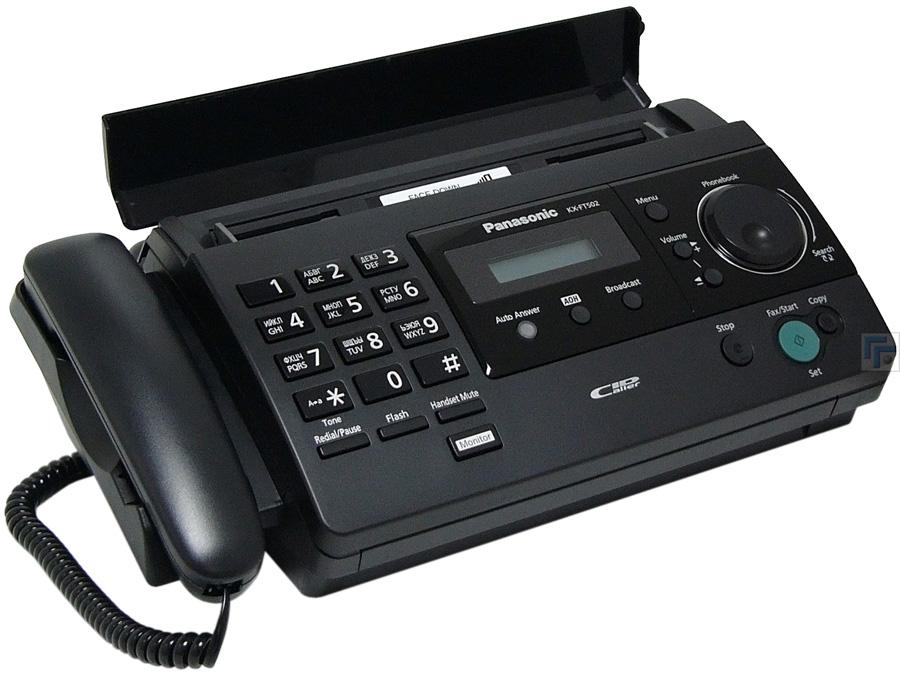 Инструкция факс панасонику