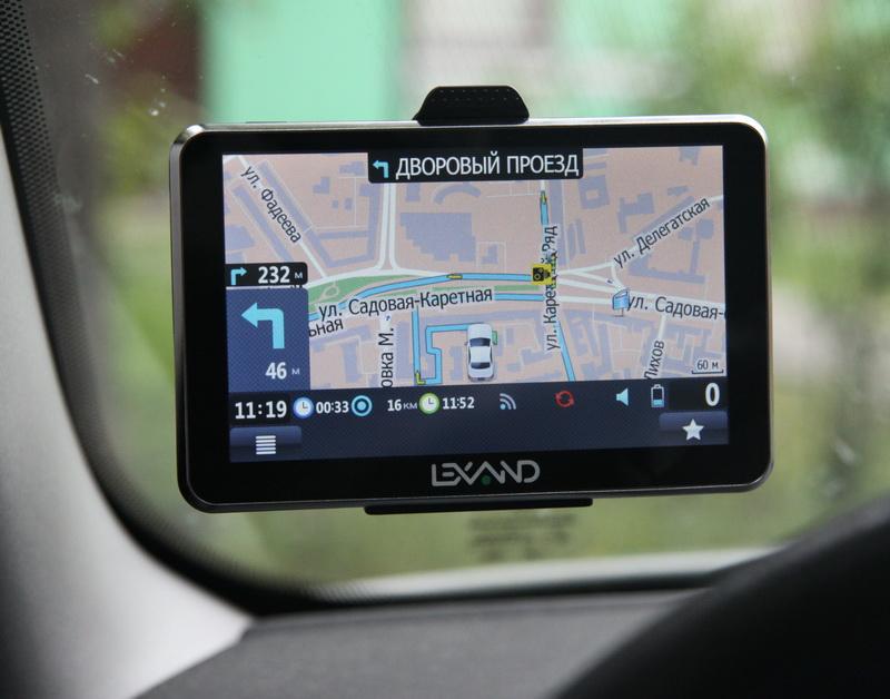 Инструкции к навигатору lexand