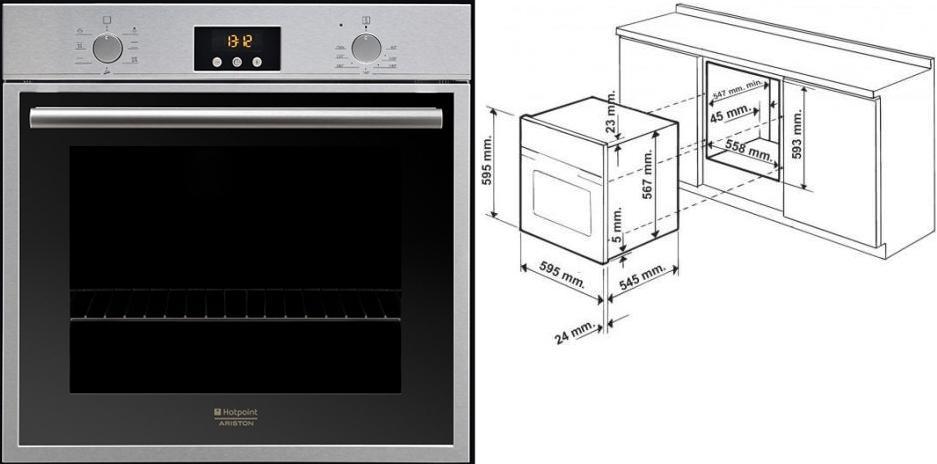 Инструкция к духовому шкафу духовой шкаф ariston