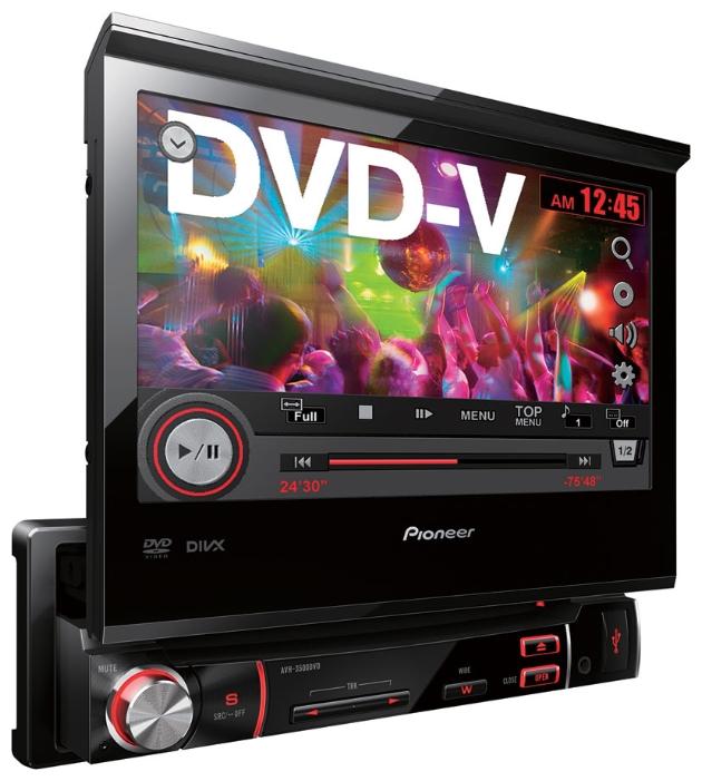 Pioneer Avh 3500 Dvd инструкция - фото 7