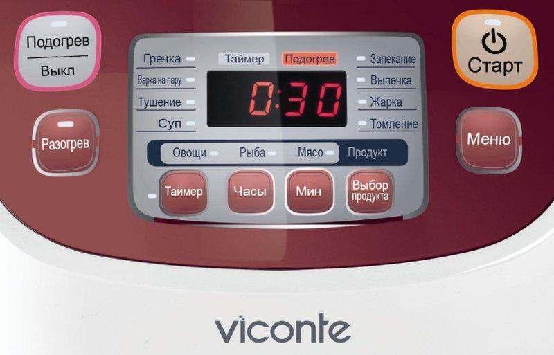 рецепты для мультиварки viconte vc 600 рецепты