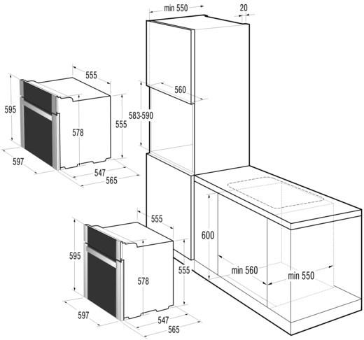 Духовой Шкаф Горенье Bo75sy2w Инструкция