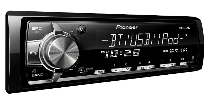 Pioneer mixtrax mvh-x560bt инструкция
