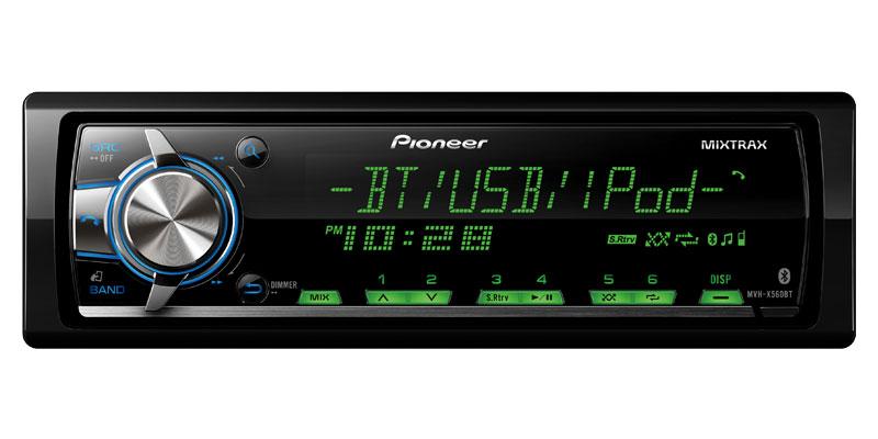 Pioneer Mixtrax Mvh-x560bt инструкция - фото 3