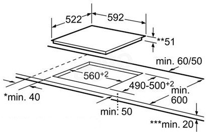 варочная панель бош электрическая независимая стеклокерамика
