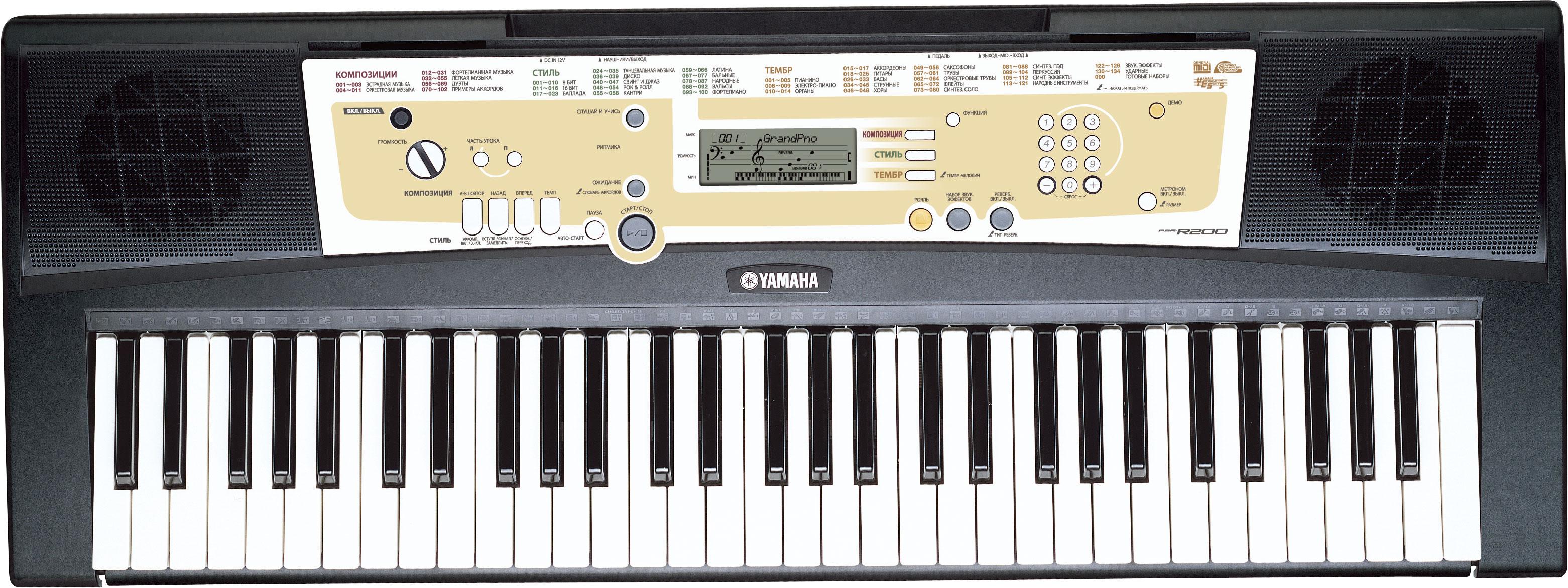 Инструкцию к синтезатору ямаха