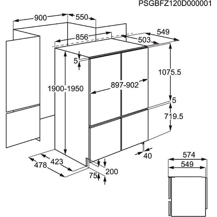 отзывы о встраиваемый холодильник Electrolux Enx 4596 Aox в интернет