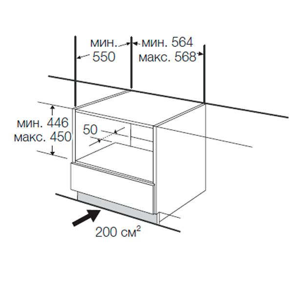 Инструкция по установке встроенного духового шкафа