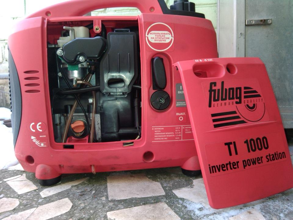Бензиновые генератор fubag ti 1000 генераторы бензиновые denzel отзывы