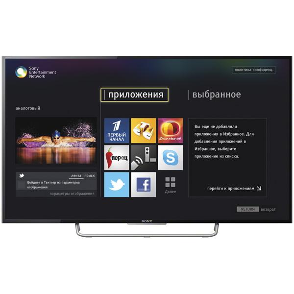телевизор sony kdl-40w705c инструкция