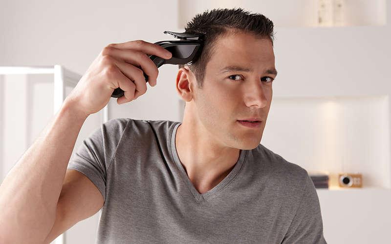 Стрижка волос мужская машинкой дома