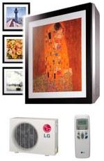 Кондиционер LG A12AW1 Inverter V ARTCOOL Gallery сплит-система — фото 1 / 8