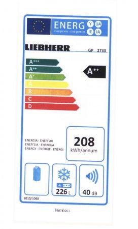 Liebherr Gp 2733 инструкция - фото 9