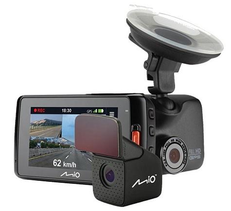 Автомобильный видеорегистратор Mio MiVue 698 (Mivue 698) - фото 2