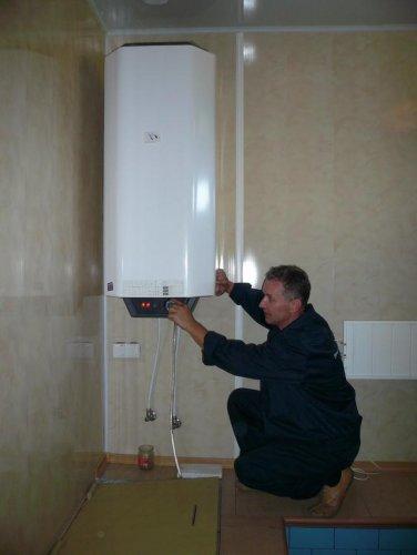 Подключение водонагревателя накопительного типа