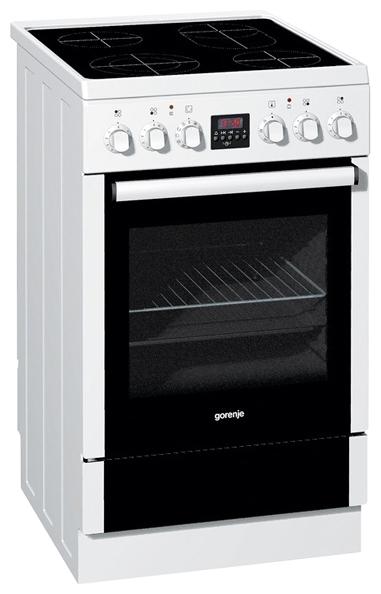 Купить электрическая плита (50-55 см) gorenje ec56102iw в каталоге.