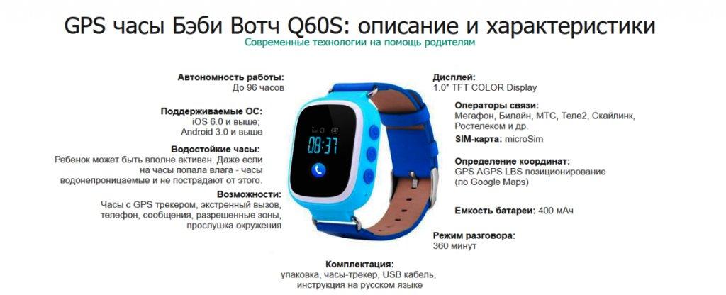 Умные часы smart watch q60s аннотация для