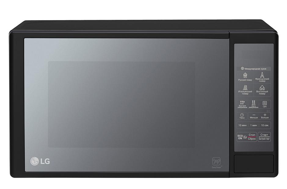 Микроволновая печь с грилем и конвекцией lg mc-7846gq.