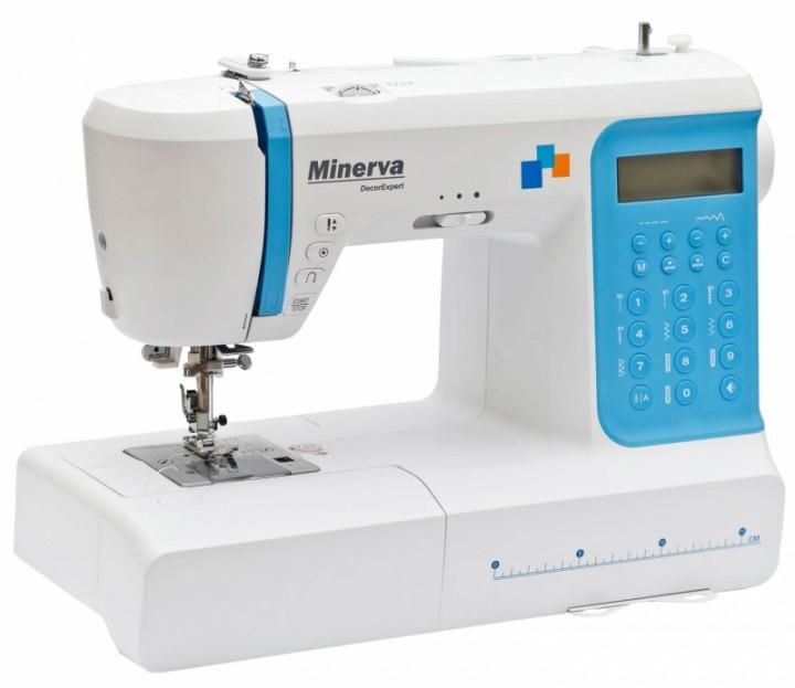 Minerva DecorExpert - профессиональная компьютеризированная швейная машина