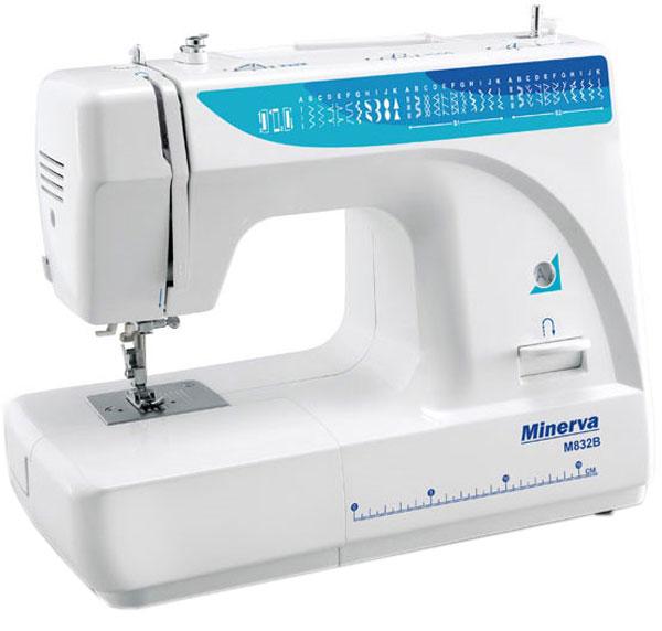 Швейная машинка Minerva M832B - шитье изделий практически из любых тканей