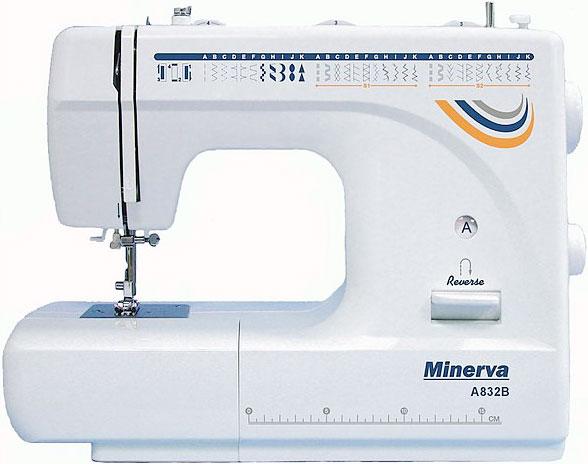 Многофункциональная электромеханическая Швейная машинка Minerva A832B