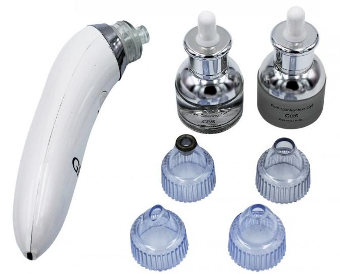 Прибор для вакуумной чистки лица и дермабразии Elastic GESS-630 - ваш профессиональный СПА-Эксперт по уходу за кожей лица в домашних условиях.