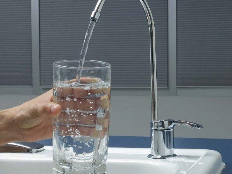 очищенная вода из проточного фильтра