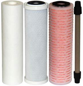 Четыре фильтрующих элемента фильтра для очистки воды MAGERIC-AQUА
